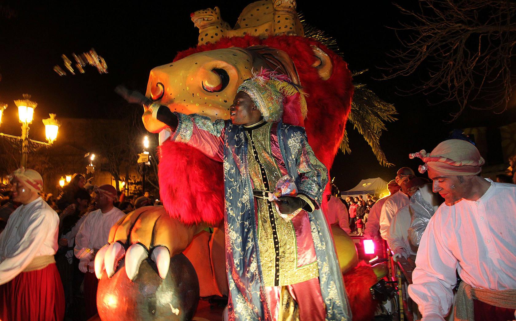 Cabalgata de los Reyes Magos en Segovia