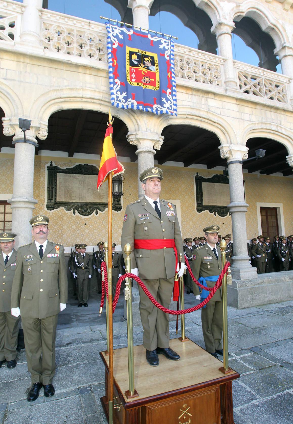 Despedida de Ricardo Sotomayor como general director de la Academia de Artillería