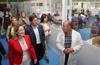 Ana Pastor y Silvia Clemente visitan un centro de Apadefym en Segovia