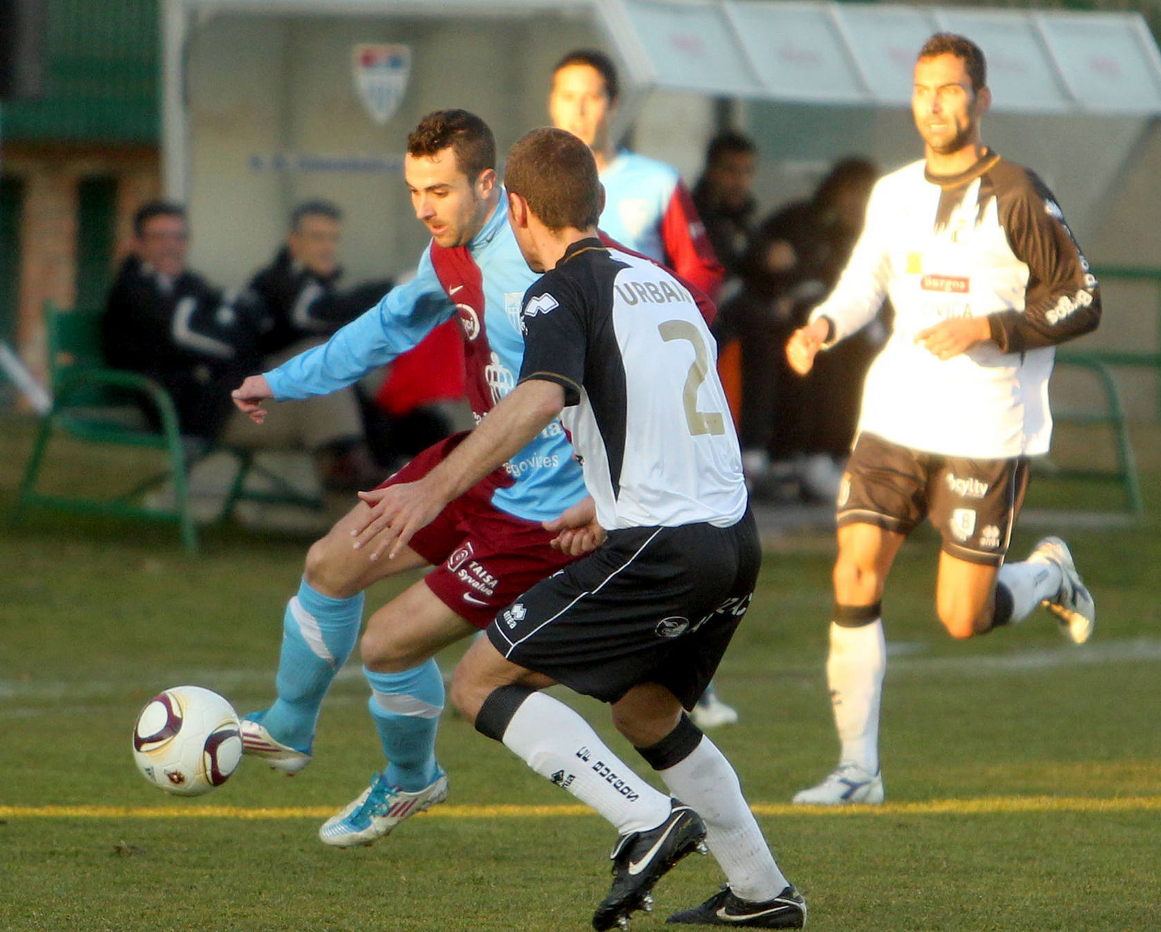 Gimnástica Segoviana CF 0 - 1 Burgos CF
