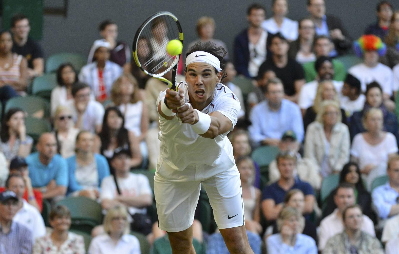 Nadal cae en la segunda ronda de Wimbledon ante el checo Rosol