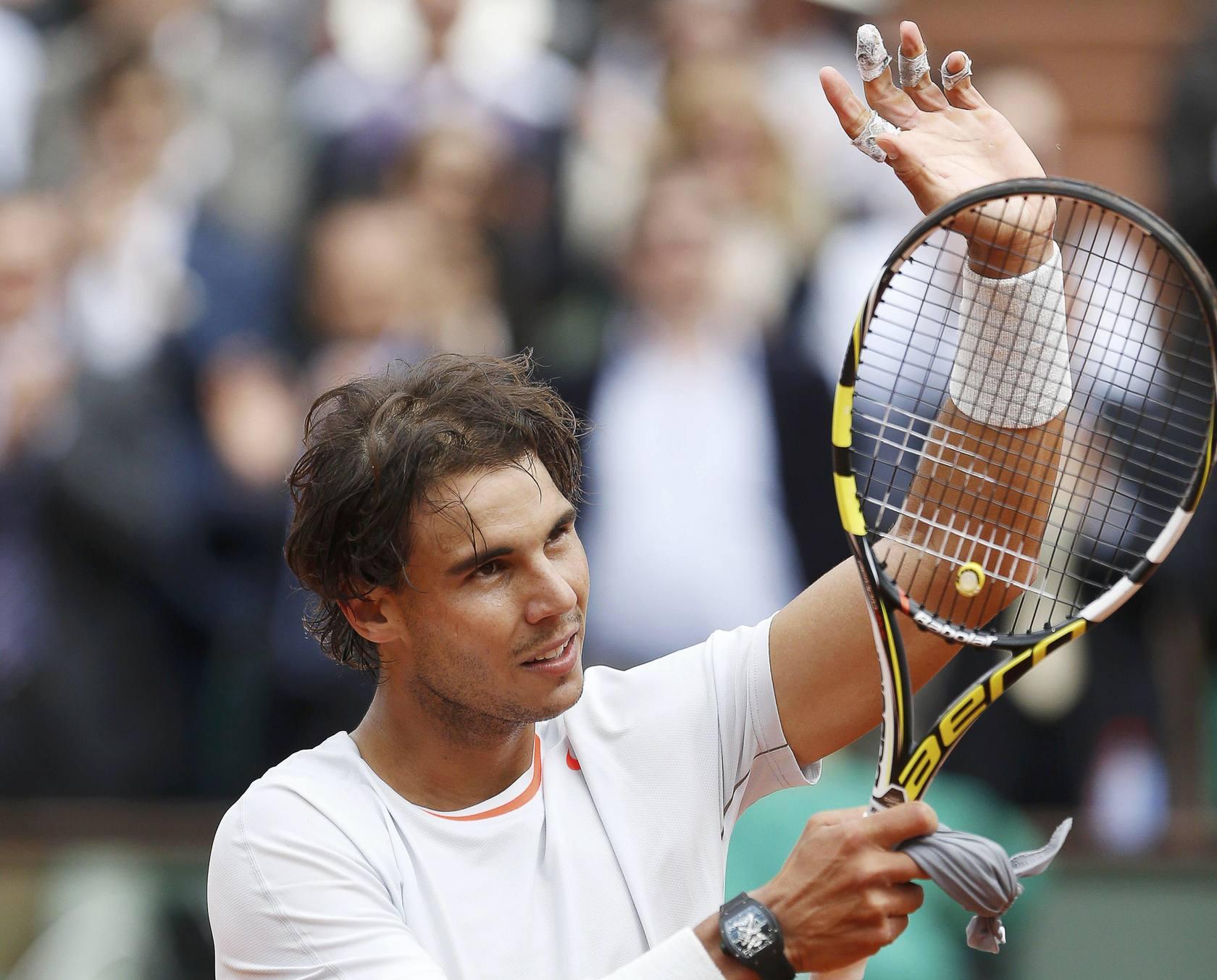 Rafael Nadal-Daniel Brand, en la primera ronda de Roland Garros